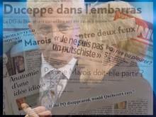 L'analyse de presse: Marois, Duceppe et sa complexité