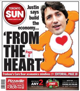 Justin Trudeau Toronto Sun