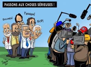 caricature campagne électorale