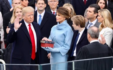 inauguration Donald Trump