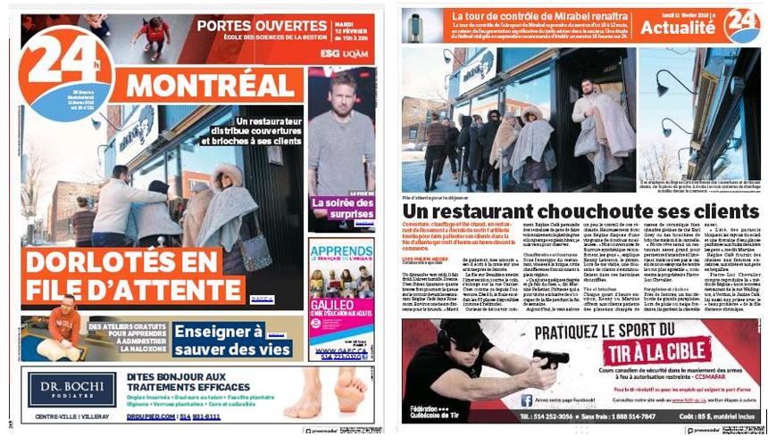 Régine Café - 24 HEURES MONTRÉAL