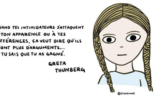 Greta Thunberg par Élise Gravel