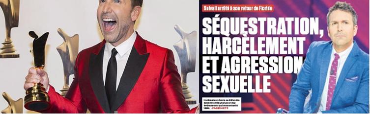 Éric Salvail à la une | Sources : Lactualite.com, Journal de Montréal